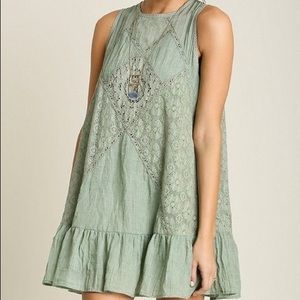 Umgee Embroidered laced summer dress-tunic